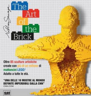 THE ART OF THE BRICK - VISITA GUIDATA